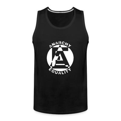 Tank top Anarchy equality