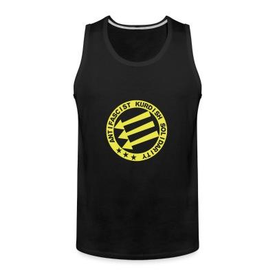 Tank top Antifascist Kurdish solidarity