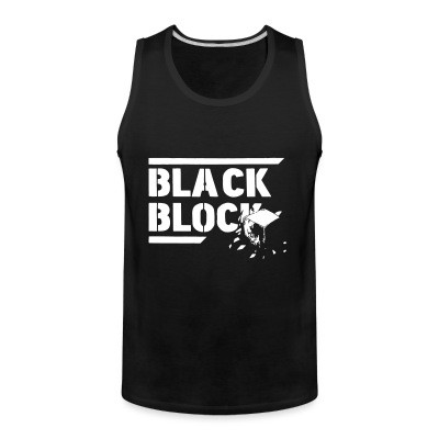 Tank top Black block