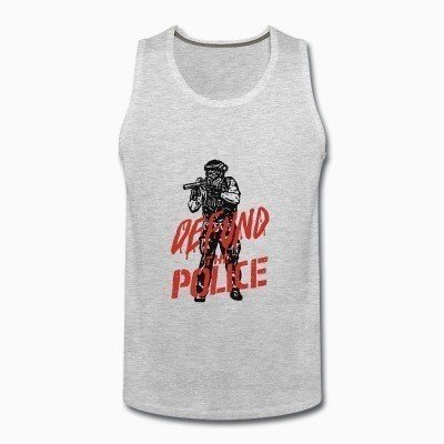 Tank top Defund the police