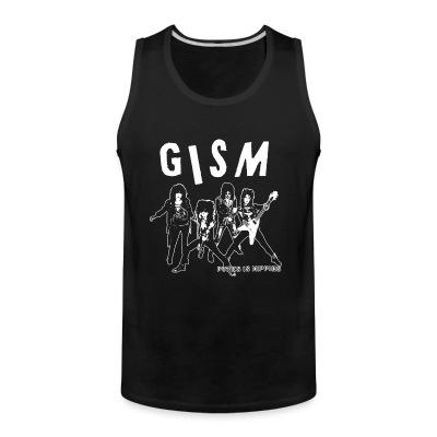 Tank top GISM - punks is hippies