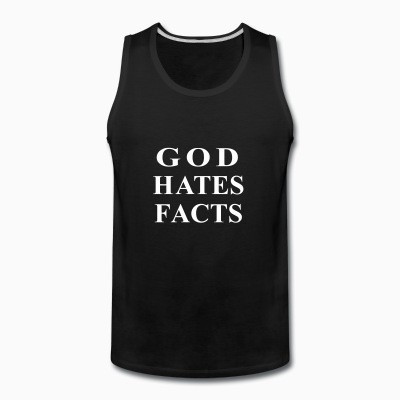 Tank top God hates facts