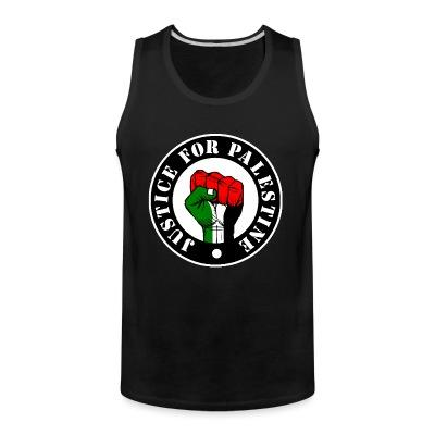 Tank top Justice for palestine