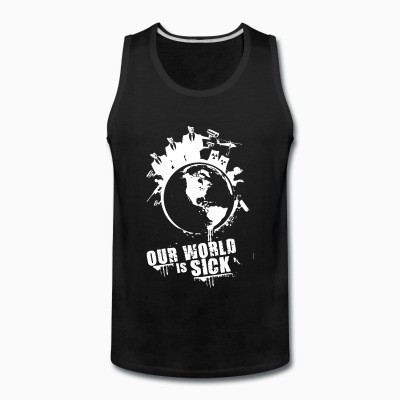 Tank top Our world is sick