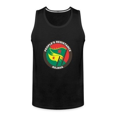 Tank top People's resistance. Rojava