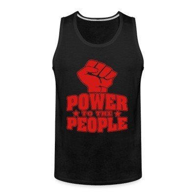 Tank top Power to the people