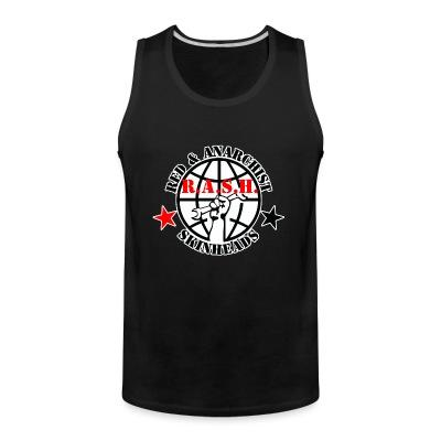 Tank top R.A.S.H. Red & Anarchist Skinheads