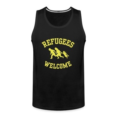 Tank top Refugees welcome