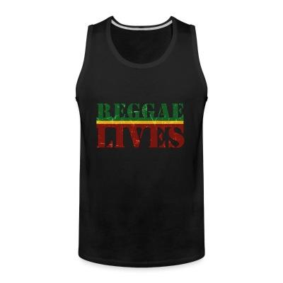 Tank top Reggae lives