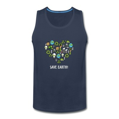 Tank top Save earth!