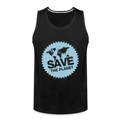 Tank top Save the planet