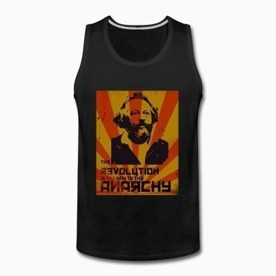 Tank top The revolution is the way to the anarchy (Bakunin)