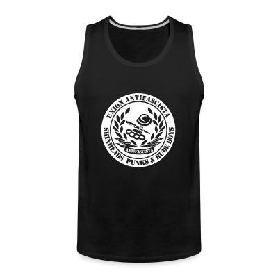 Tank top Union antifascista skineads punks & rude boys