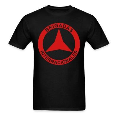 T-shirt Brigadas internationales