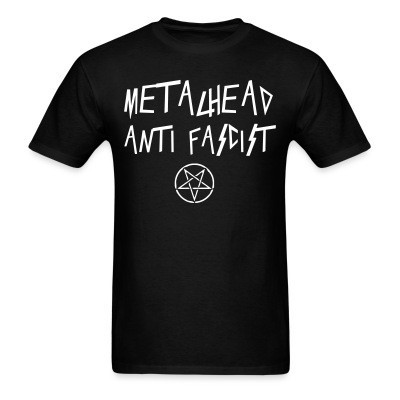 MEtalhead anti fascist