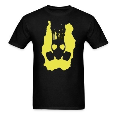 T-shirt Pollution Gasmask
