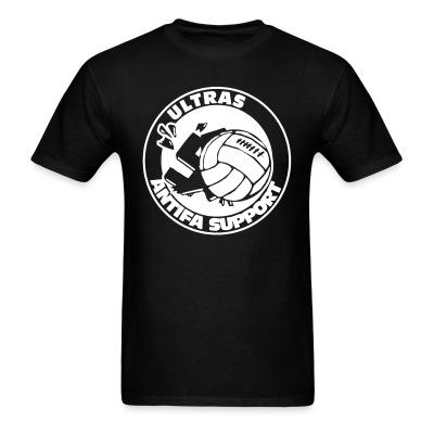 T-shirt Ultras antifa support