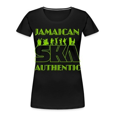 Women Organic Jamaican ska authentic