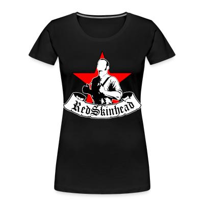 Women Organic RedSkinhead