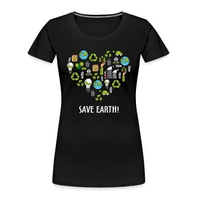 Women Organic Save earth!