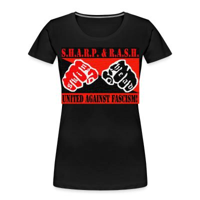 Women Organic SHARP & RASH united against fascism!