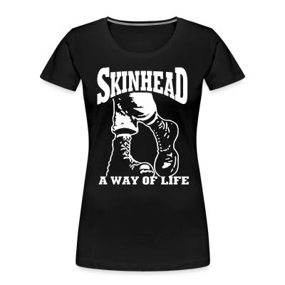 Women Organic Skinhead a way of life