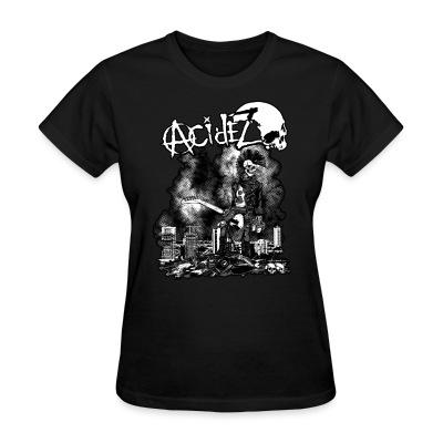 Women T-shirt Acidez