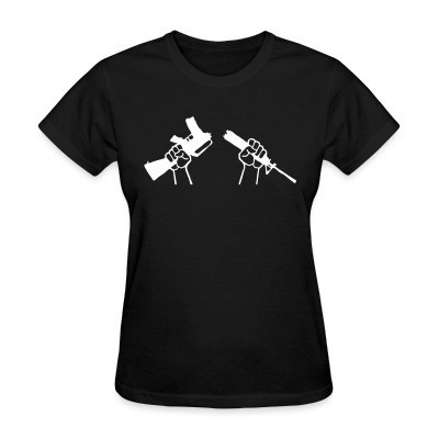 Women T-shirt Anti-Militarism