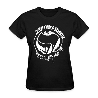 Women T-shirt Antifaschistische aktion