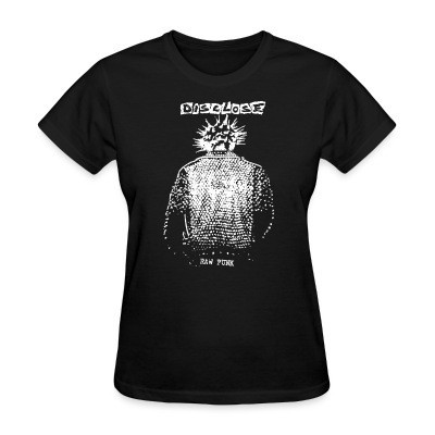 Women T-shirt Disclose - raw punk