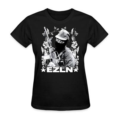 Women T-shirt EZLN