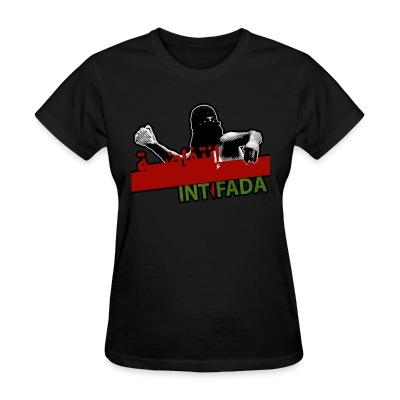 Women T-shirt Intifada Palestine