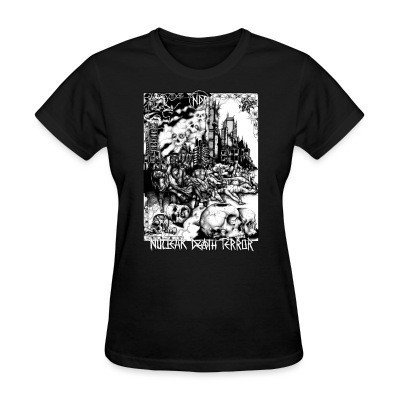 Women T-shirt Nuclear Death Terror