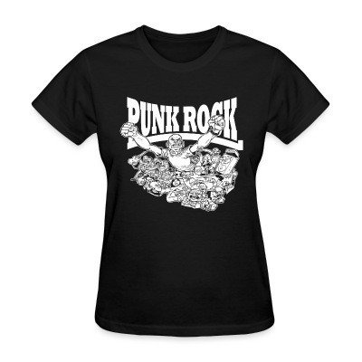 Women T-shirt Punk rock