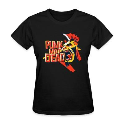 Women T-shirt Punk's not dead