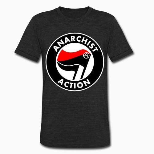 Local T-shirt Anarchist action