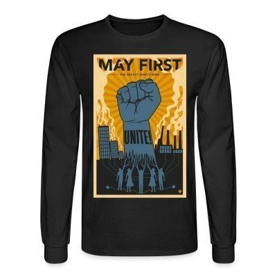 Long sleeves May first unite! the mighty nintey nine