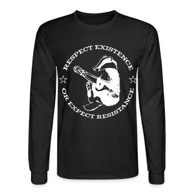 Long sleeves Respect existence or expect resistance