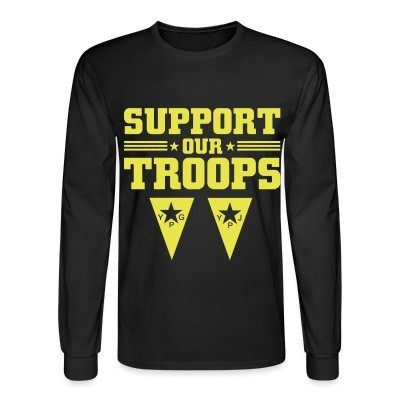 Long sleeves Support our troops! YPJ/YPG