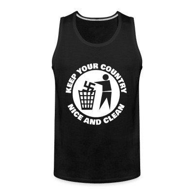 Tank top Keep your country nice and clean