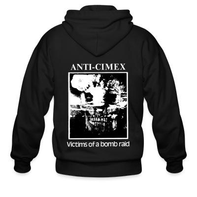 Zip hoodie Anti-Cimex - Victims of a bomb raid