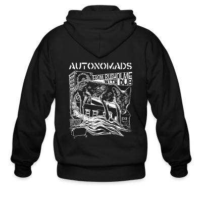 Zip hoodie Autonomads - from rusholme with dub