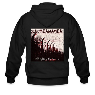 Zip hoodie Chumbawamba - Still fighting the fences