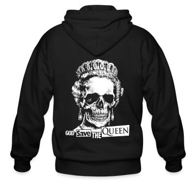 Zip hoodie God save the Queen