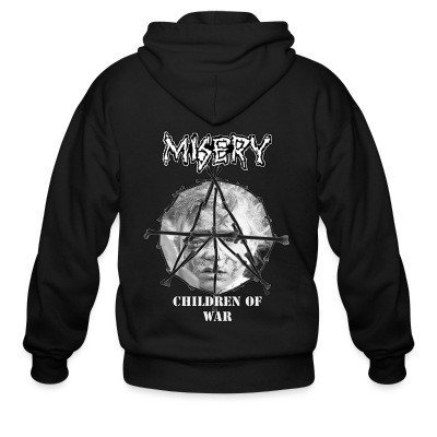 Zip hoodie Misery - children of war