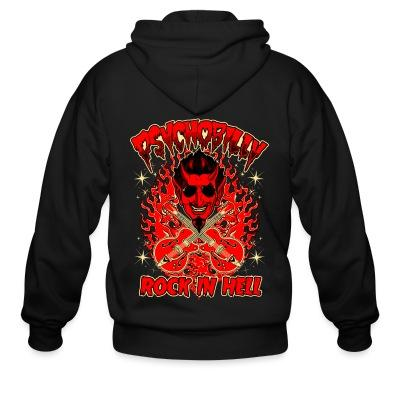 Zip hoodie Psychobilly rock in hell