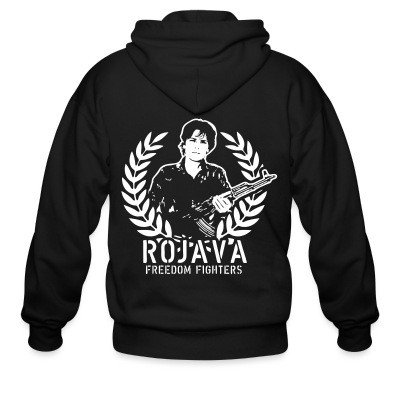 Zip hoodie Rojava freedom fighters