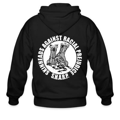 Zip hoodie S.H.A.R.P. Skinhead Against Racial Prejudice