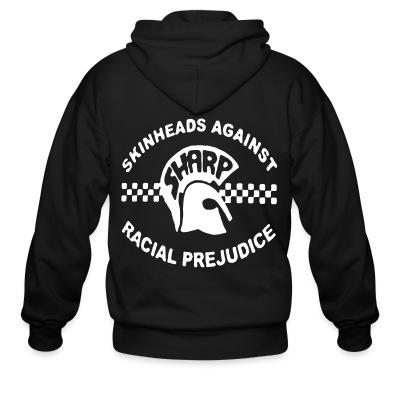 Zip hoodie SHARP Skinheads Against Racial Prejudice