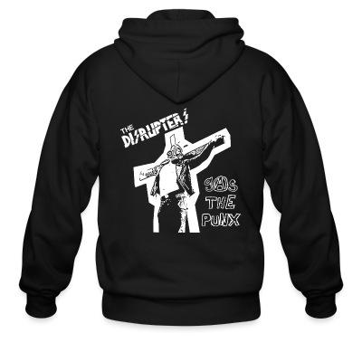 Zip hoodie The disrupters - Gas the punx
